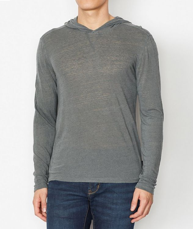 Linen Blend Hoodie picture 1