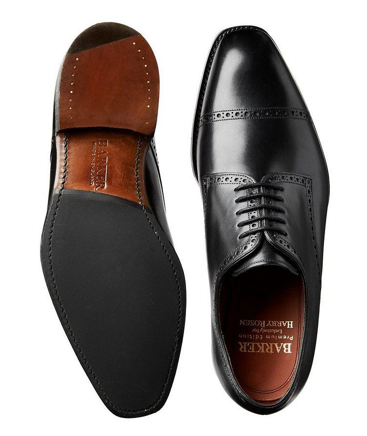 Chaussure lacée en cuir de veau image 2