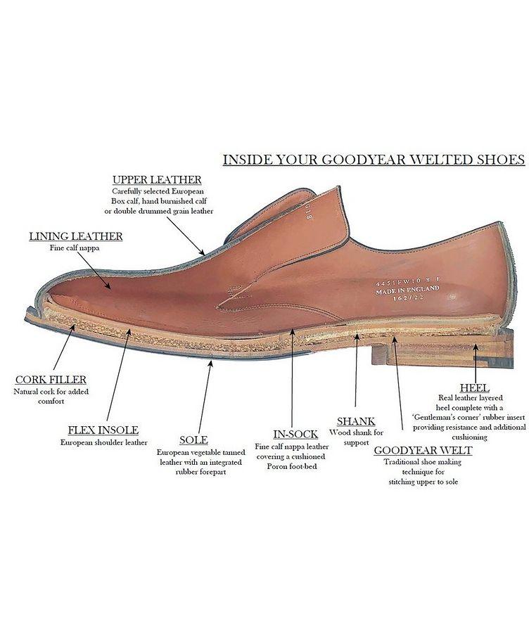 Chaussure lacée en cuir de veau image 3