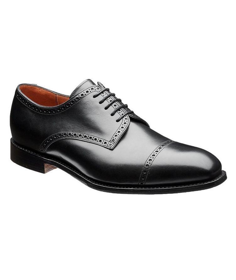 Chaussure lacée en cuir de veau image 0