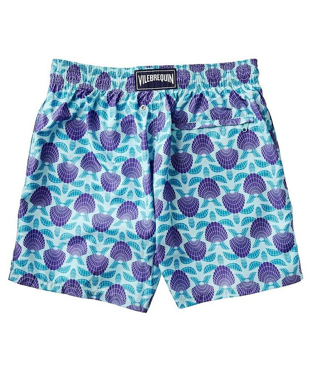 Seashell Printed Swim Trunks picture 2
