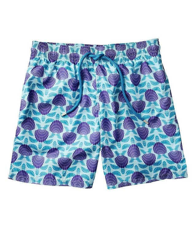 Seashell Printed Swim Trunks picture 1