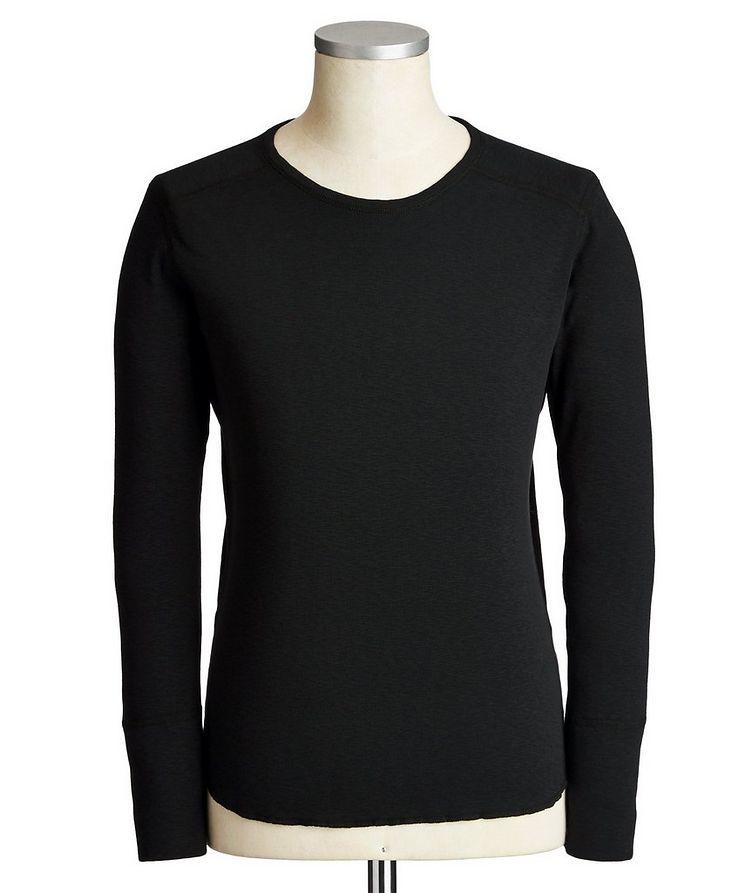 Long-Sleeve Burnout T-Shirt image 0