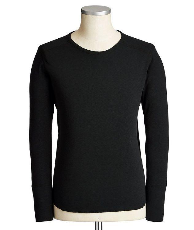 Long-Sleeve Burnout T-Shirt picture 1