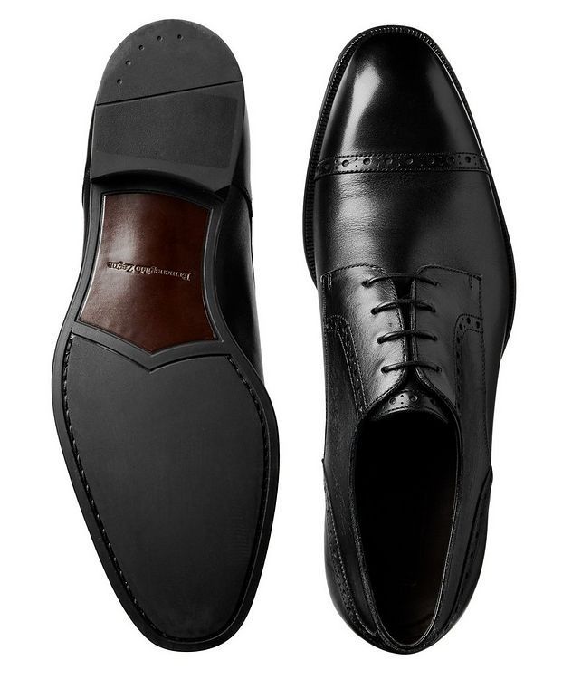 Leather Cap-Toe Derbies picture 3