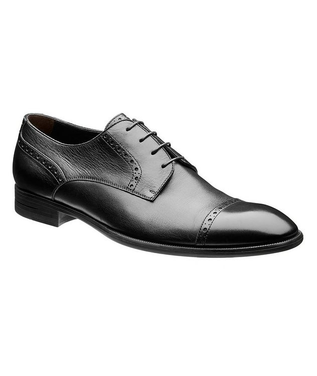 Leather Cap-Toe Derbies picture 1