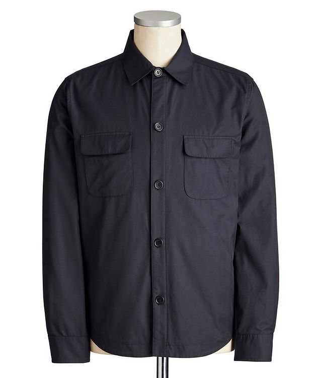 Water-Resistant Shirt Jacket picture 1