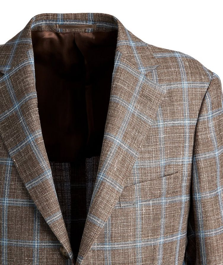 Checked Wool Sports Jacket image 1