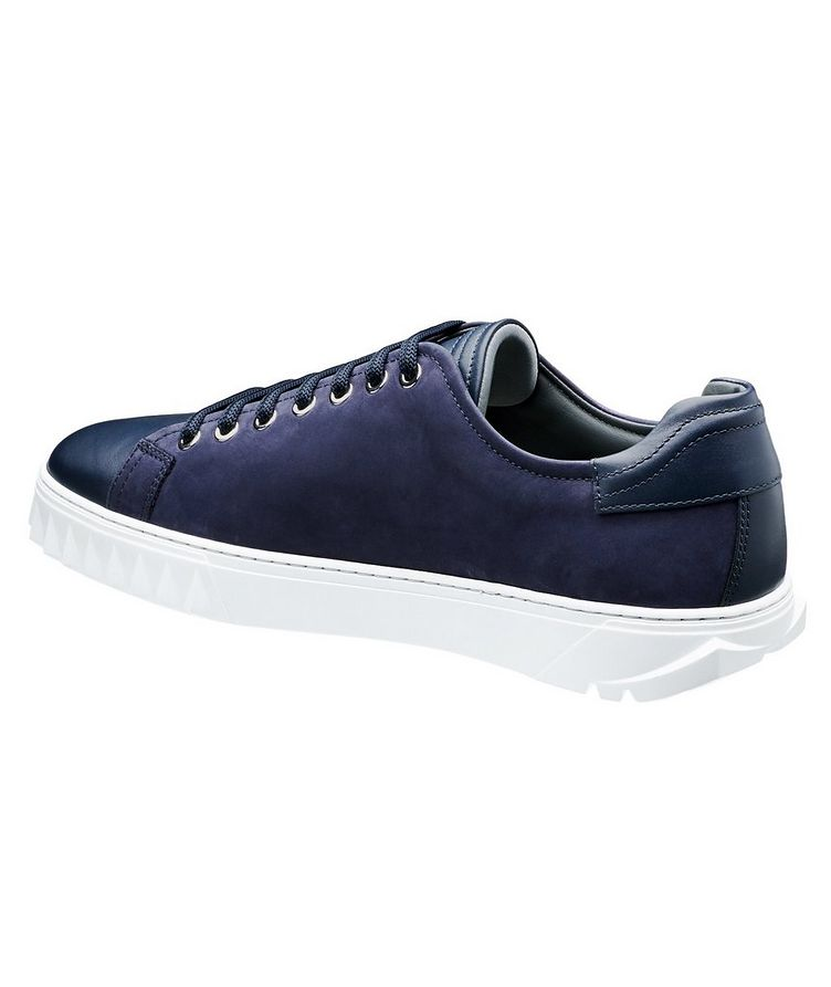 Nubuck Low-Top Sneakers image 1