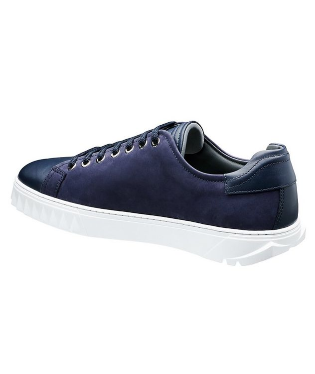 Nubuck Low-Top Sneakers picture 2
