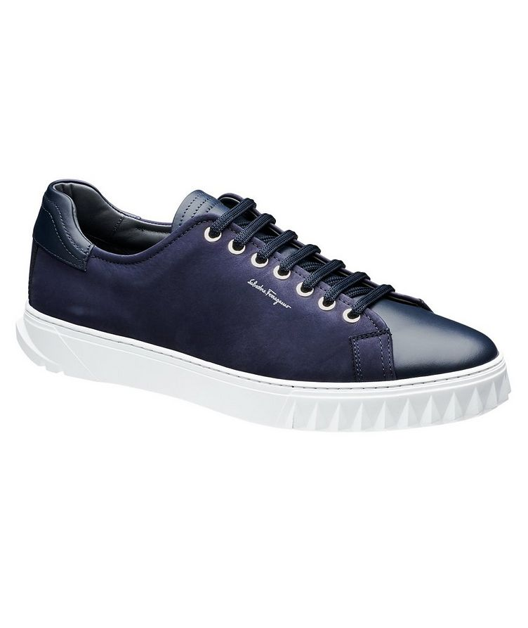 Nubuck Low-Top Sneakers image 0