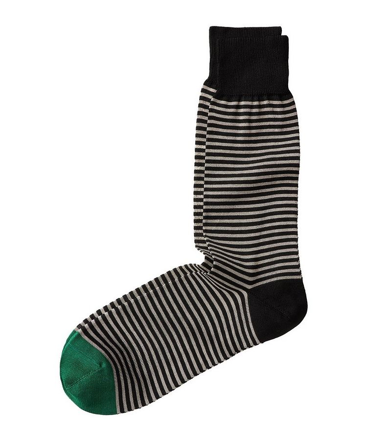 Striped Cotton Socks image 0