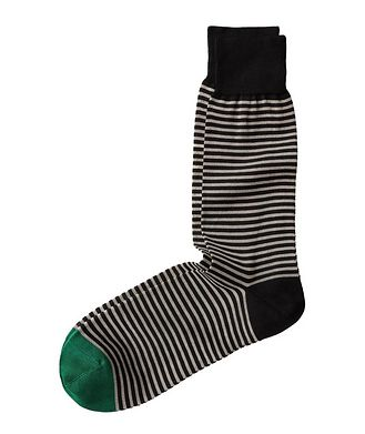 Paul Smith Striped Cotton Socks