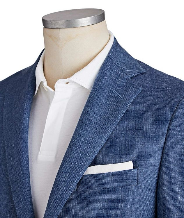 Michael Wool-Silk-Linen Sports Jacket picture 2