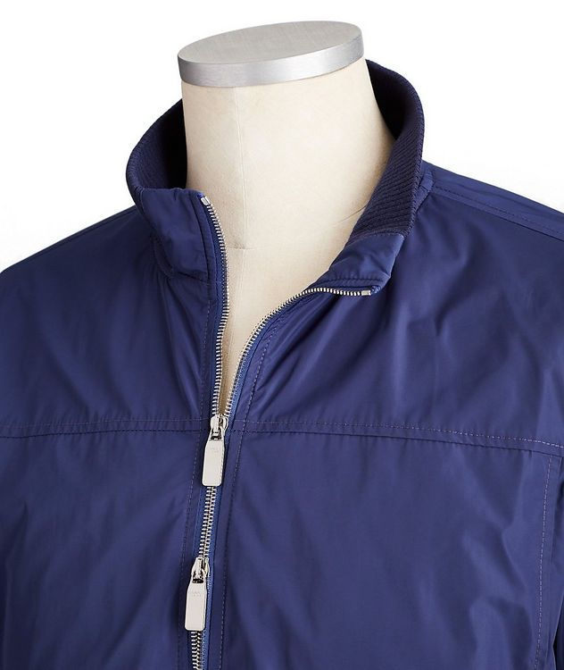 Water-Repellent Bomber Jacket picture 2