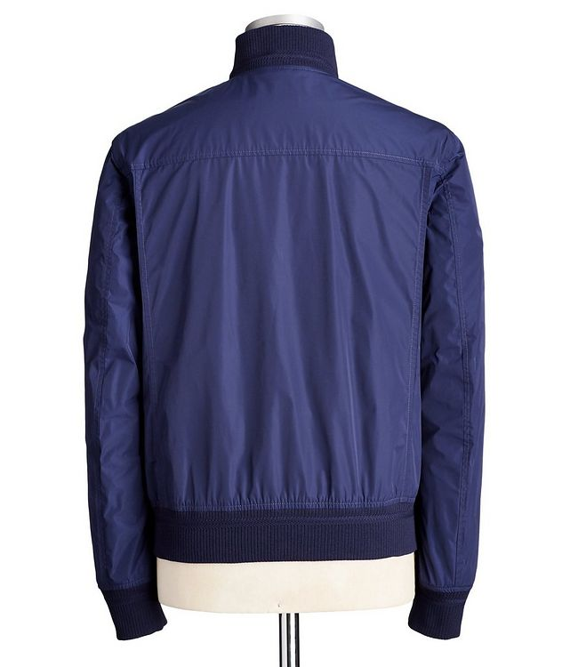 Water-Repellent Bomber Jacket picture 3