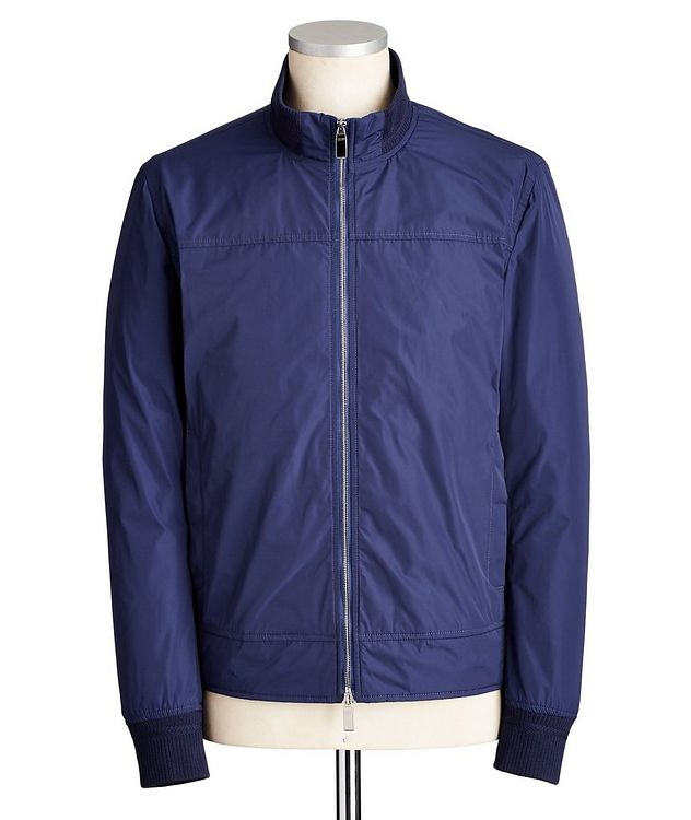 Water-Repellent Bomber Jacket picture 1