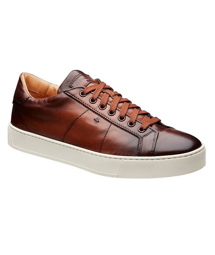 Leather Low-Top Sneakers image 0