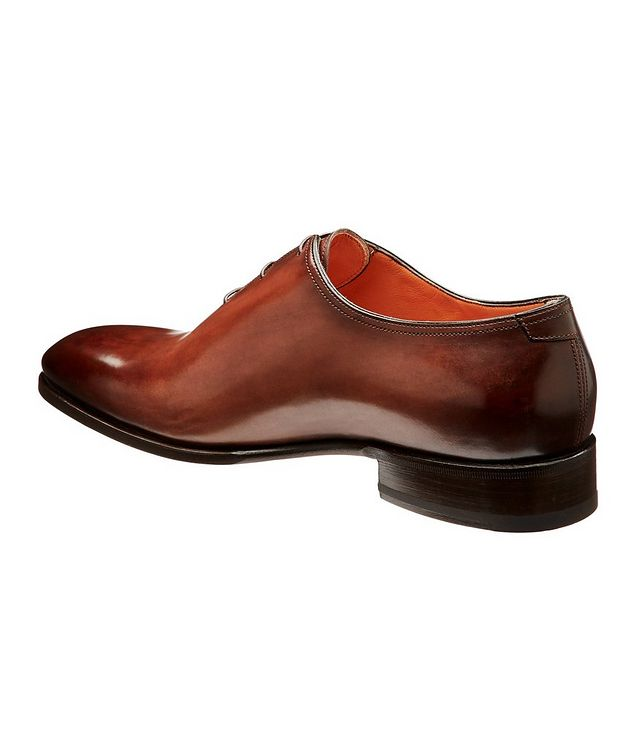 Whole-Cut Leather Oxfords picture 2