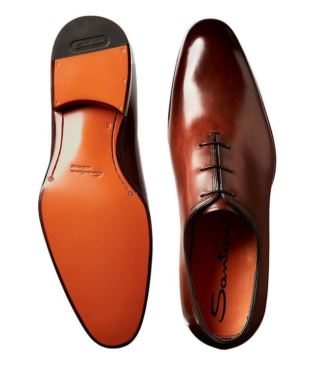 Whole-Cut Leather Oxfords picture 3