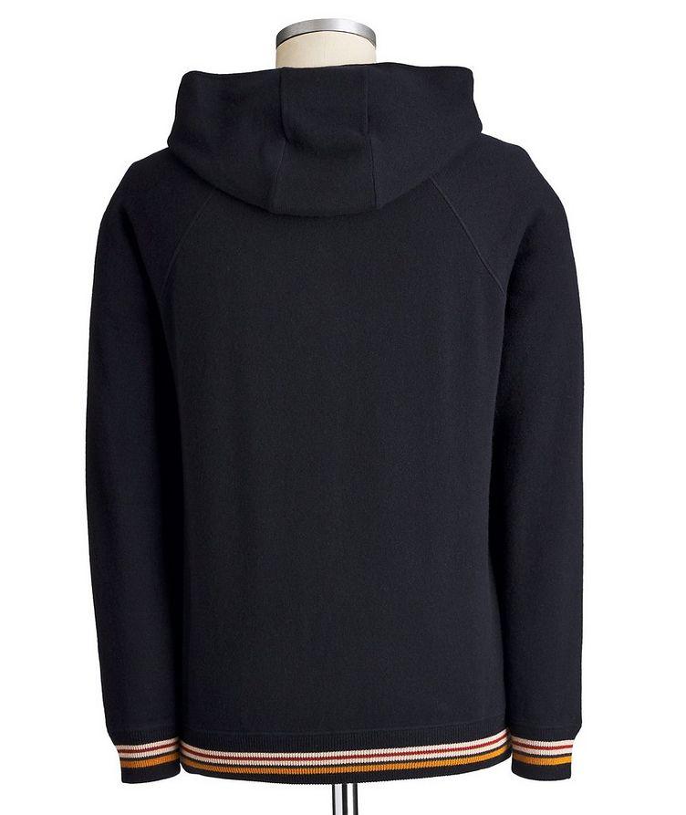 Zip-Up Cashmere Hoodie image 1