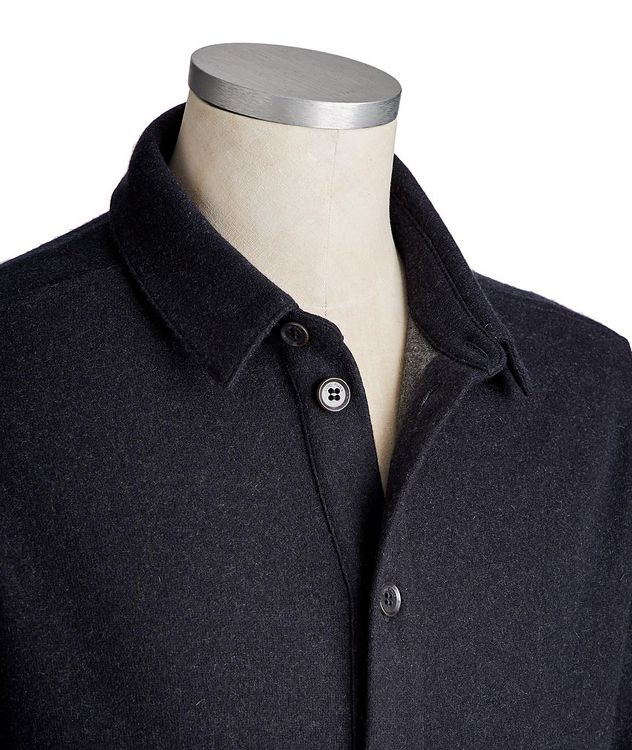 Cashmere-Blend Overshirt picture 2