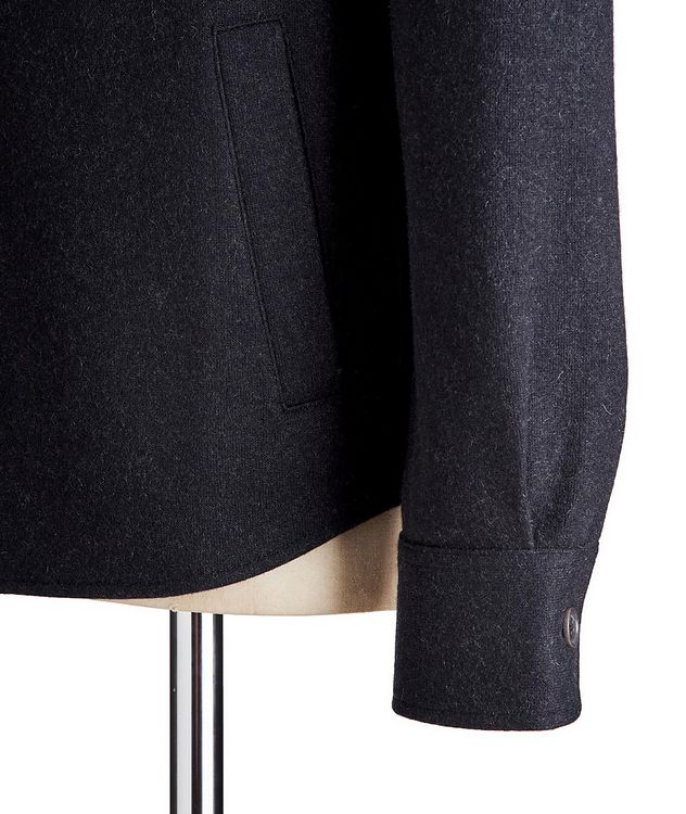 Cashmere-Blend Overshirt picture 4