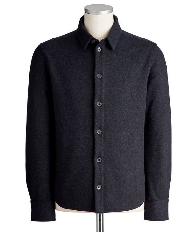 Cashmere-Blend Overshirt picture 1