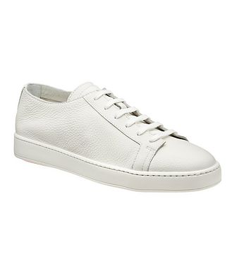 Santoni Deerskin Low-Top Sneakers