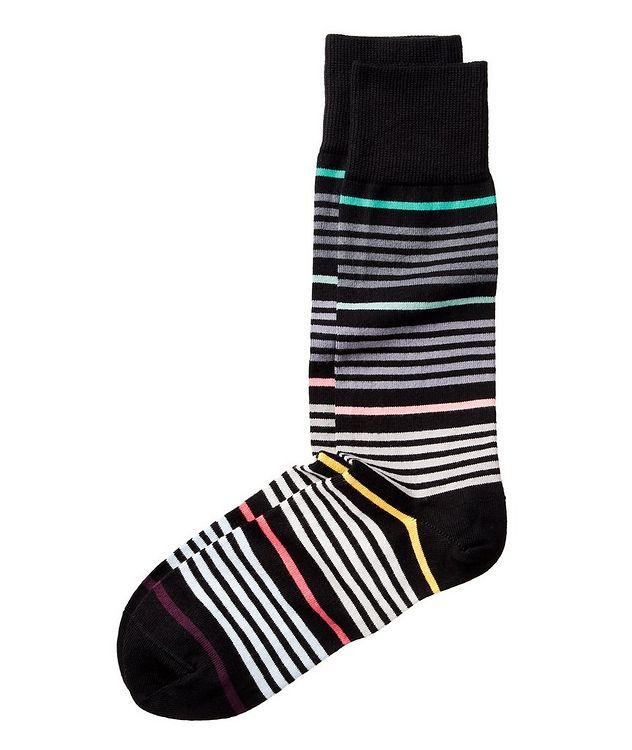 Chaussettes imprimées en coton picture 1