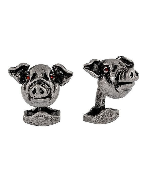 Mechanical Pig Cufflinks picture 1