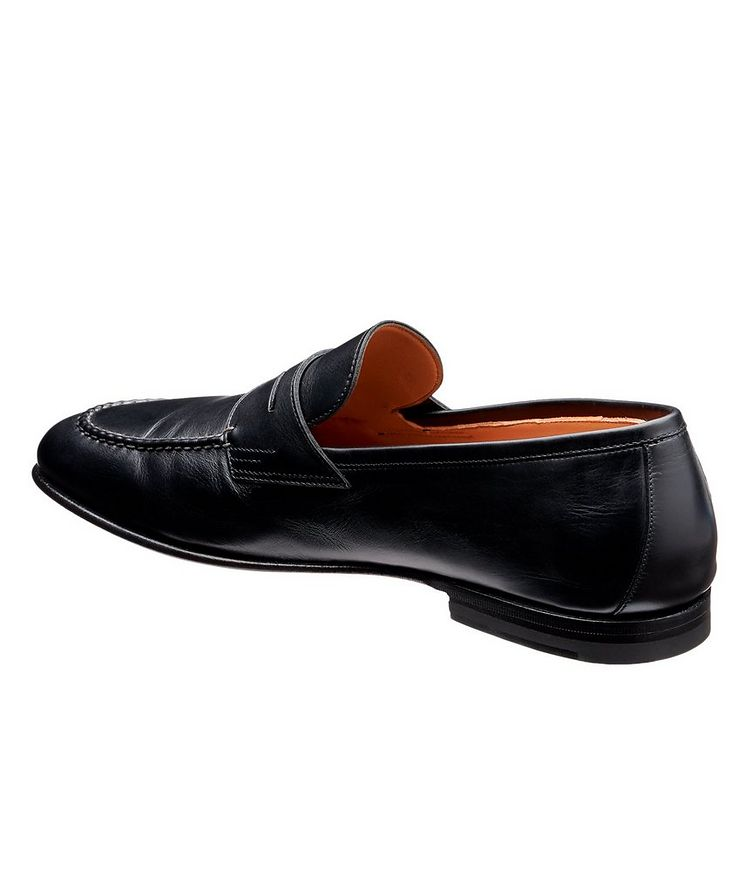 Leather Penny Loafers image 1