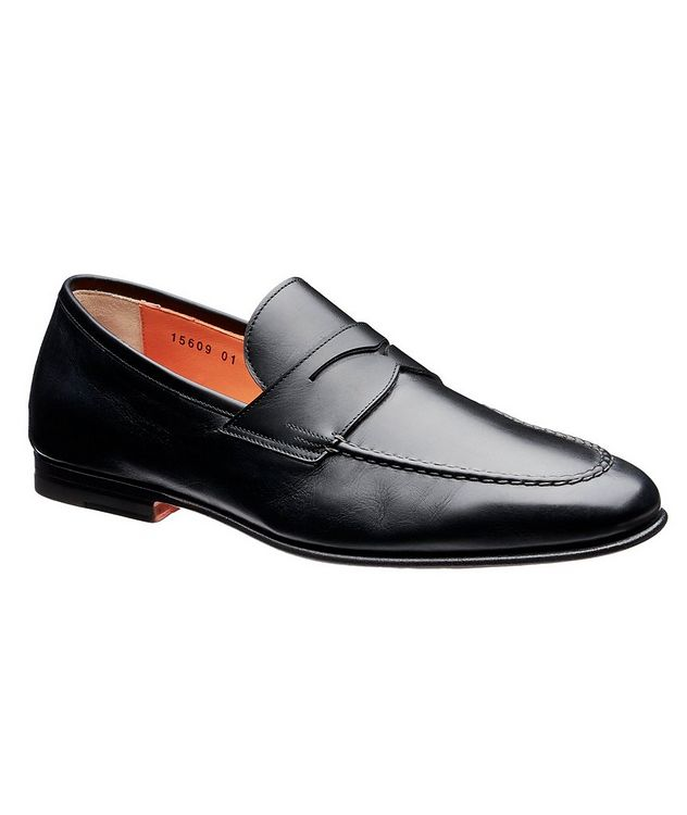 Leather Penny Loafers picture 1