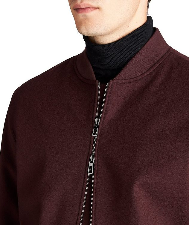 Green Storm System® Cashmere Bomber Jacket picture 4