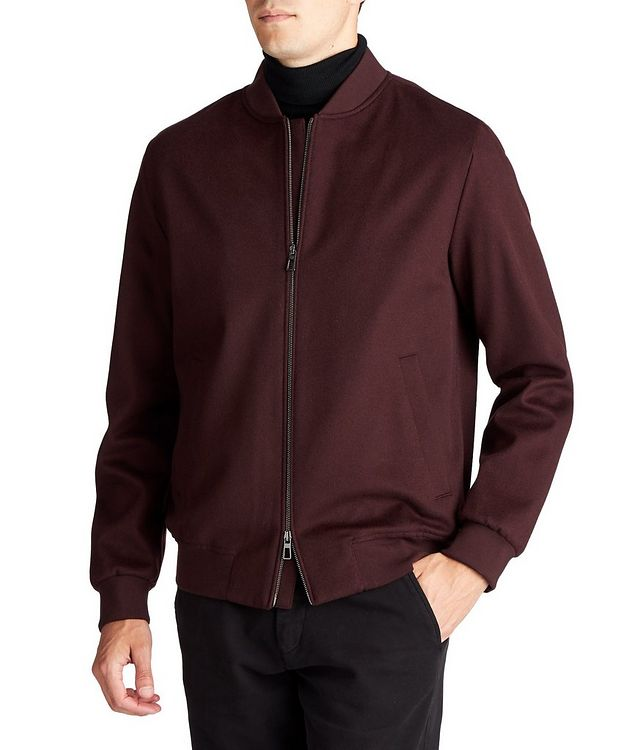 Green Storm System® Cashmere Bomber Jacket picture 1