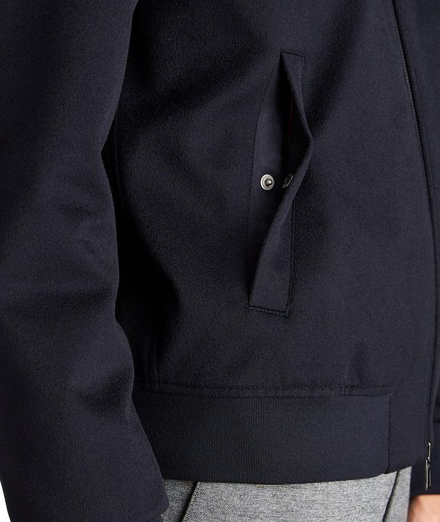 Green Storm System® Cashmere Bomber Jacket picture 3
