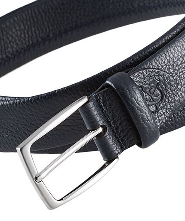 Tumbled Leather Belt picture 2
