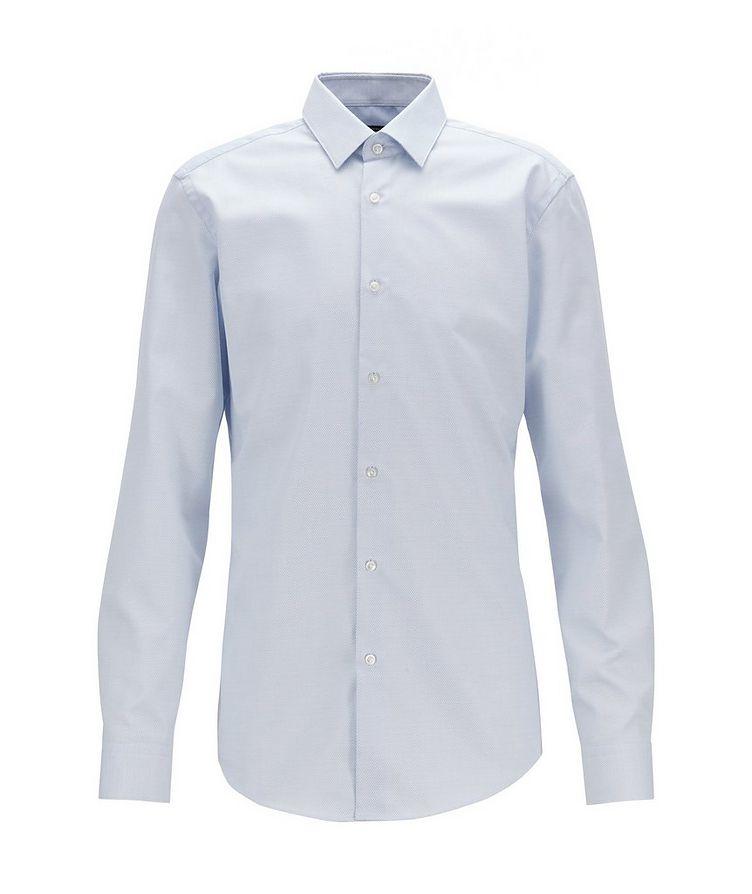 Slim Fit Bird's eye Travel Dress Shirt image 1