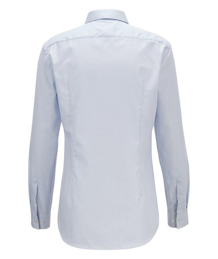 Slim Fit Bird's eye Travel Dress Shirt image 2