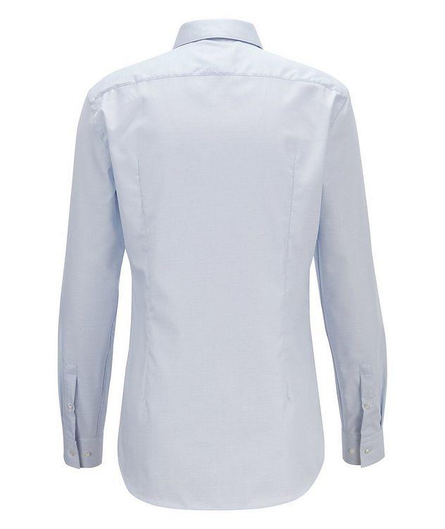 Slim Fit Bird's eye Travel Dress Shirt picture 3