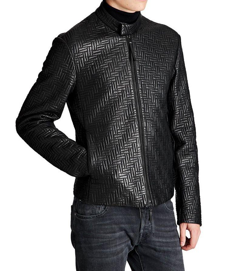 Quilted Lambskin Jacket image 0