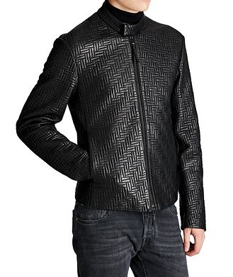 Emporio Armani Quilted Lambskin Jacket