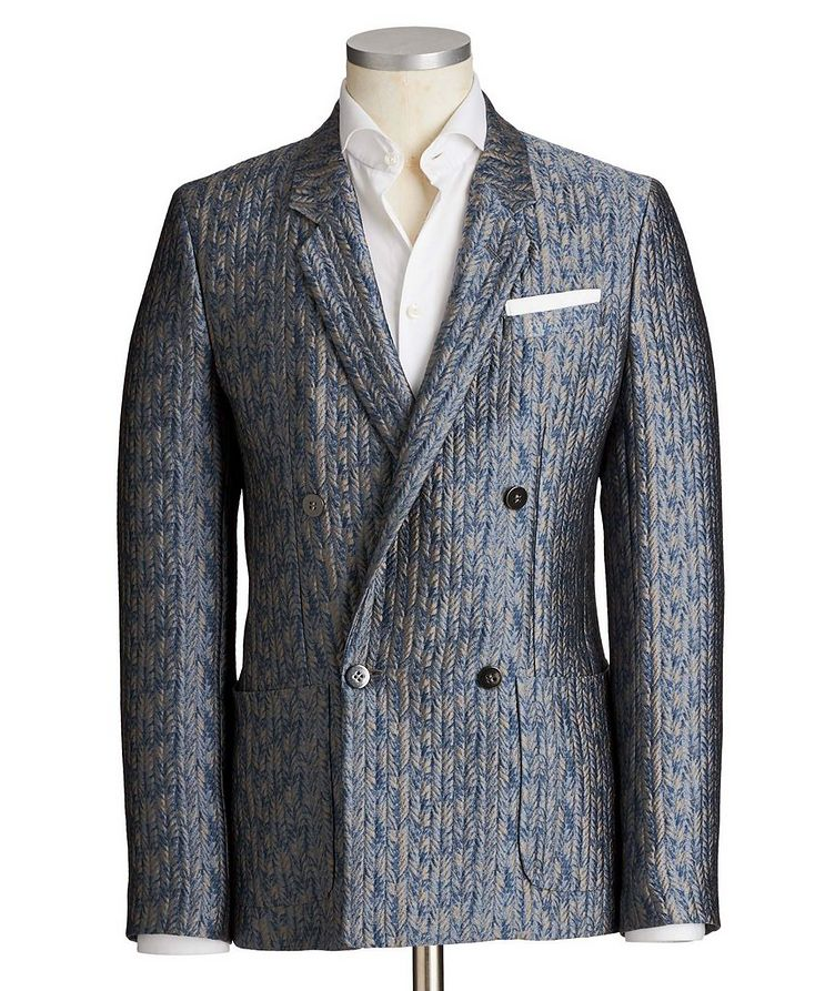Double-Breasted Sports Jacket image 0