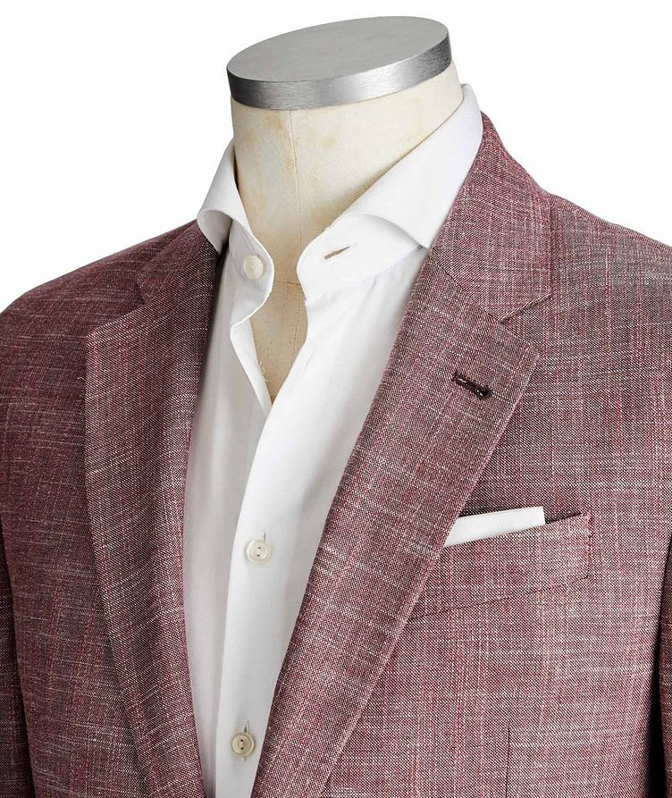 G-Line Virgin Wool, Cotton & Linen Sports Jacket image 1