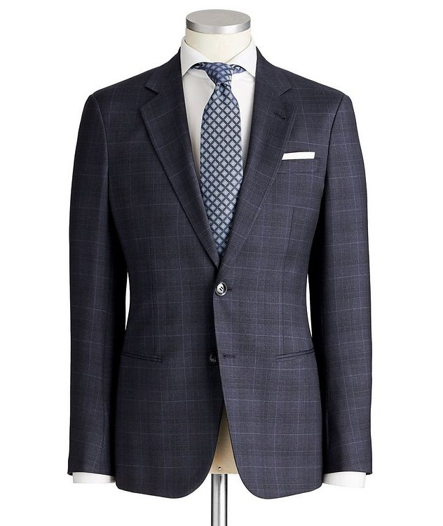 Soho Glen-Checked Suit picture 1