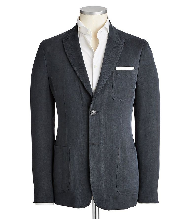 Unstructured Corduroy Sports Jacket image 0