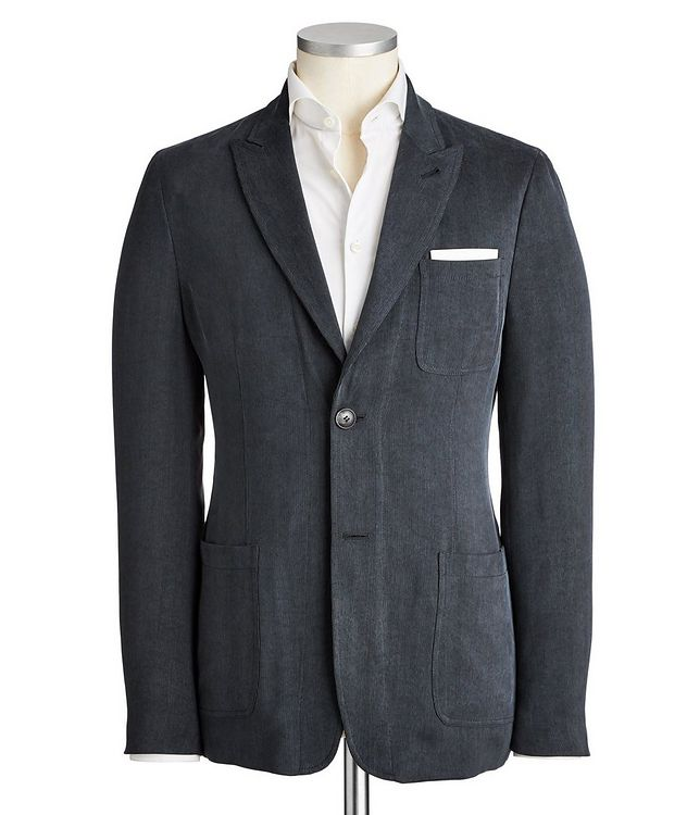 Unstructured Corduroy Sports Jacket picture 1