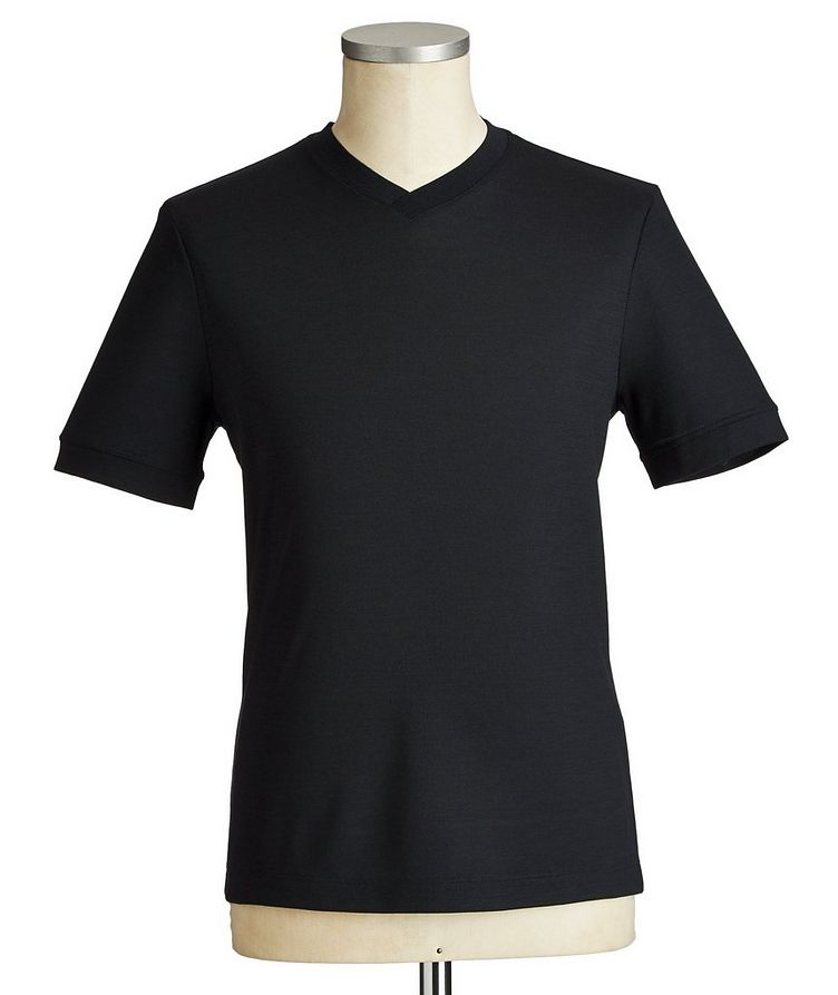 Virgin Wool T-Shirt image 0