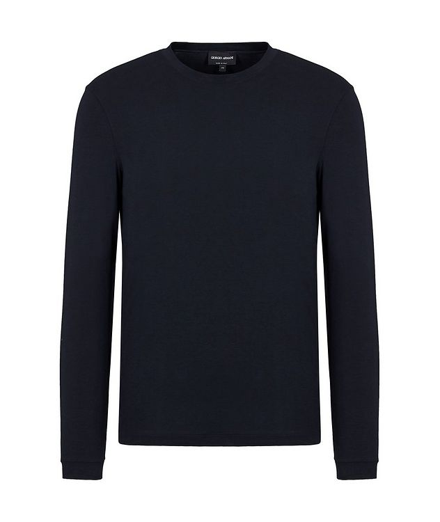 Long-Sleeve Stretch T-Shirt picture 1