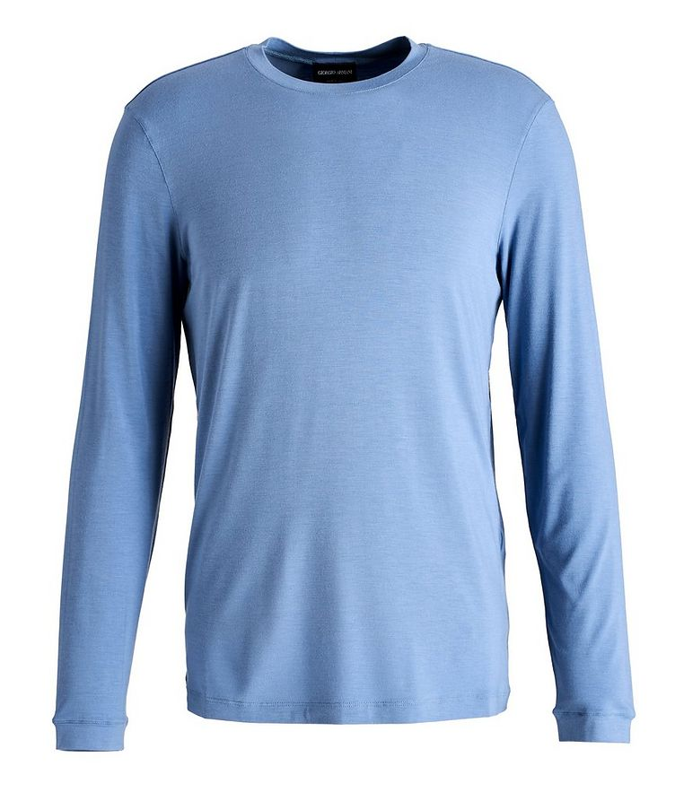 Long-Sleeve Stretch T-Shirt image 0